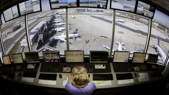 Am Frankfurter Flughafen wird ab Sonntagabend wieder gestreikt