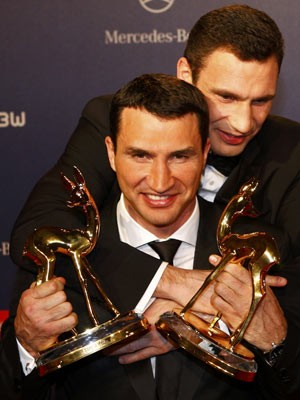Bambi Vitali und Wladimier Klitschko; Reuters