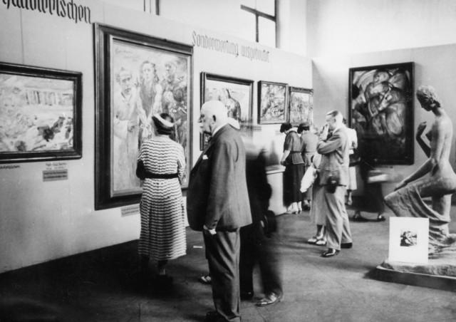 """Ausstellung """"Entartete Kunst"""", 1937"""