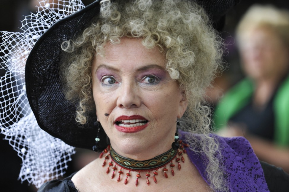 Veronika von Quast beim Brunnenfest am Viktualienmarkt in München, 2011