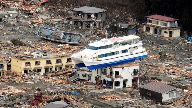 Fukushima, Japan, Tsunami, Erdbeben