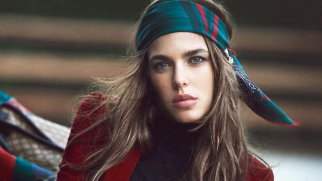 Charlotte Casiraghi ist das neue Gucci-Gesicht