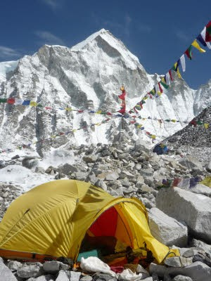 Sehenswürdigkeiten Touristen Fallen, Everest South Base Camp, AFP