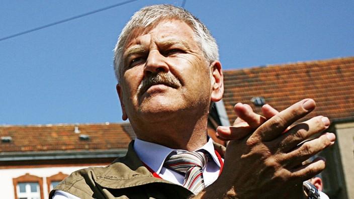 NPD-Spitzenkandidat für die Europawahl: Udo Voigt