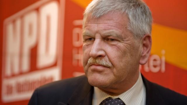 BGH urteilt ueber Hotel-Hausverbot fuer ehemaligen NPD-Vorsitzenden