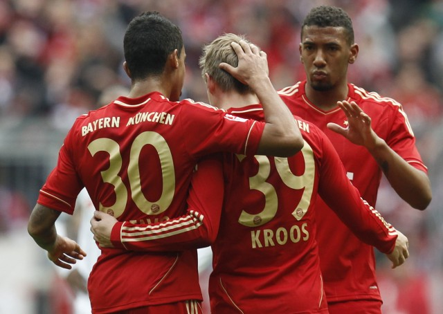 Toni Kroos, Luiz Gustavo, Jerome Boateng