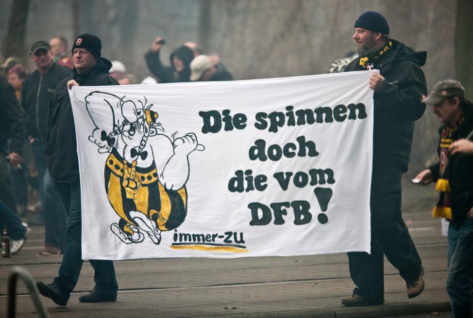 Geisterspiel Dynamo Dresden - FC Ingolstadt