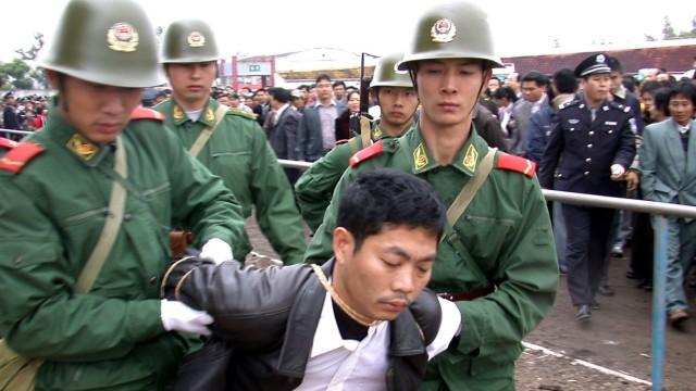 TV-Sendung in China: Mordsspektakel: Laut Angaben von Menschenrechtsorganisationen finden in China pro Jahr mehr Hinrichtungen statt als im gesamten Rest der Welt.