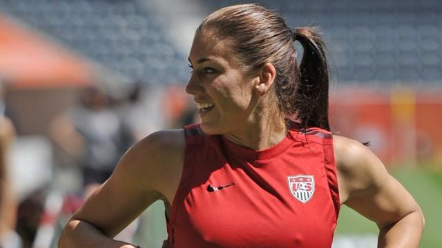Frauen-WM 2011 - USA Training