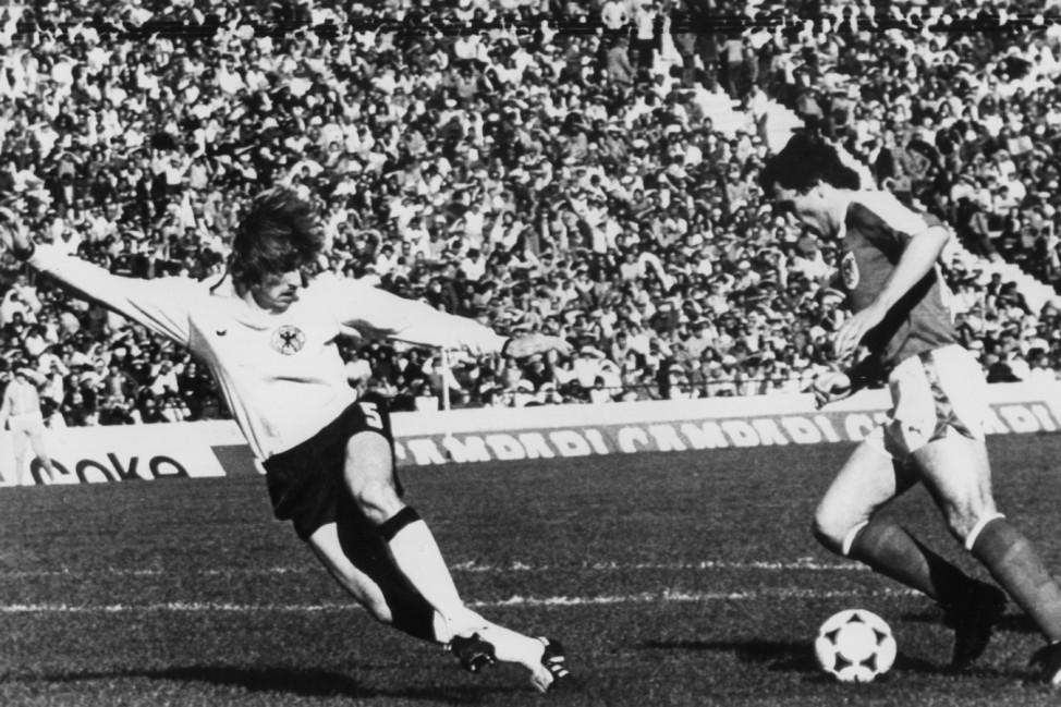 Fußball-Weltmeisterschaft in Argentinien,  Deutschland gegen Österreich 2 : 3