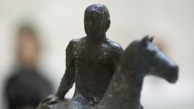Ausstellung 'Der Berliner Skulpturenfund. 'Entartete Kunst' im Bombenschutt'