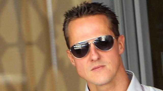 Michael Schumacher färbt sich die Haare
