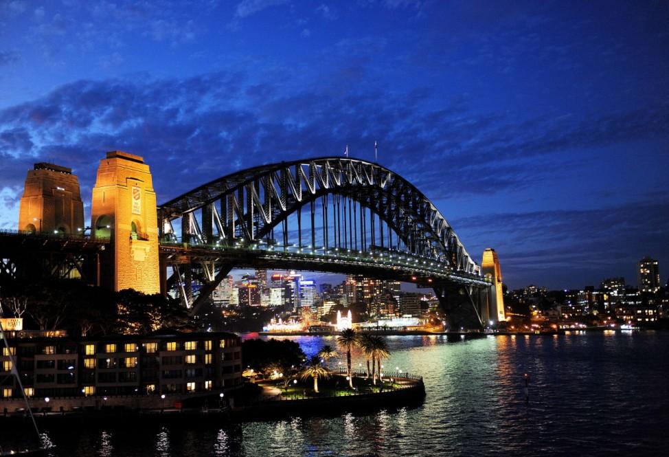 Harbour Bridge, Sydney, Australien