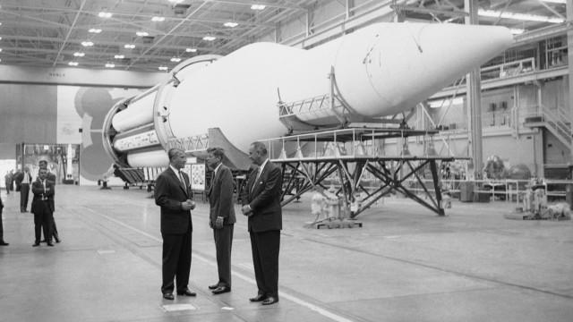 100. Geburtstag des Raketeningenieurs Wernher von Braun