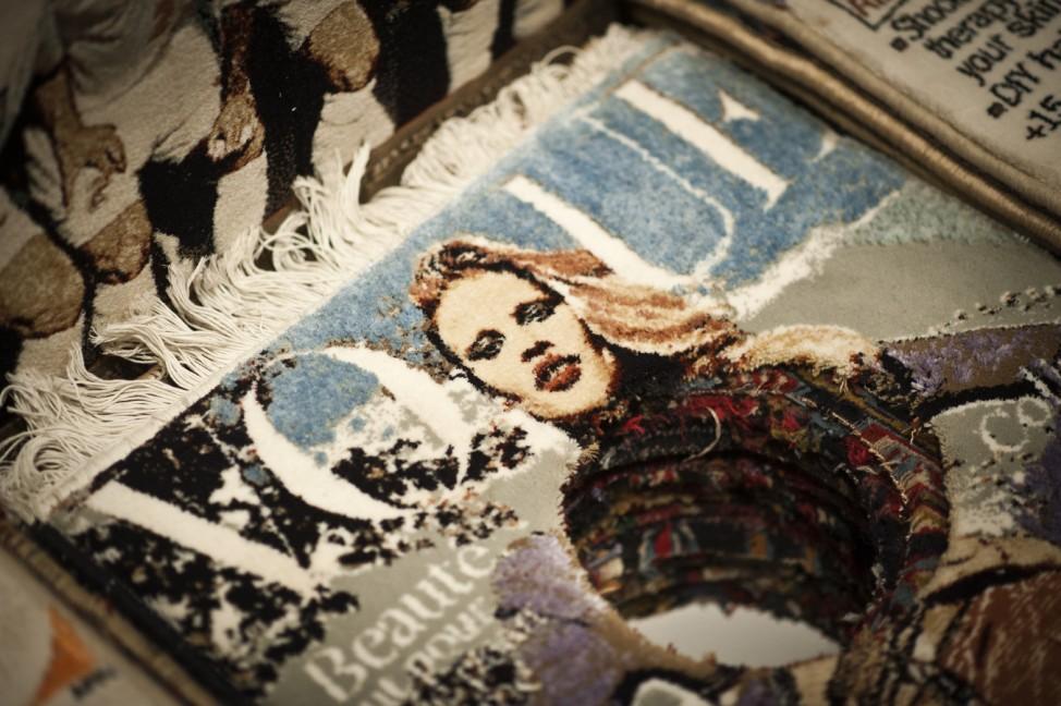Vorbesichtigung der Ausstellung 'Art and Press - Reflexionen zeitgenoessischer Kunst auf das Medium Zeitung'