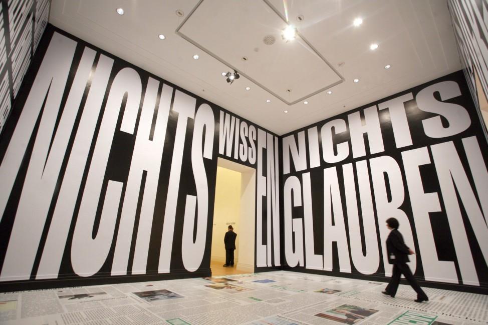 Ausstellung 'Art and Press'