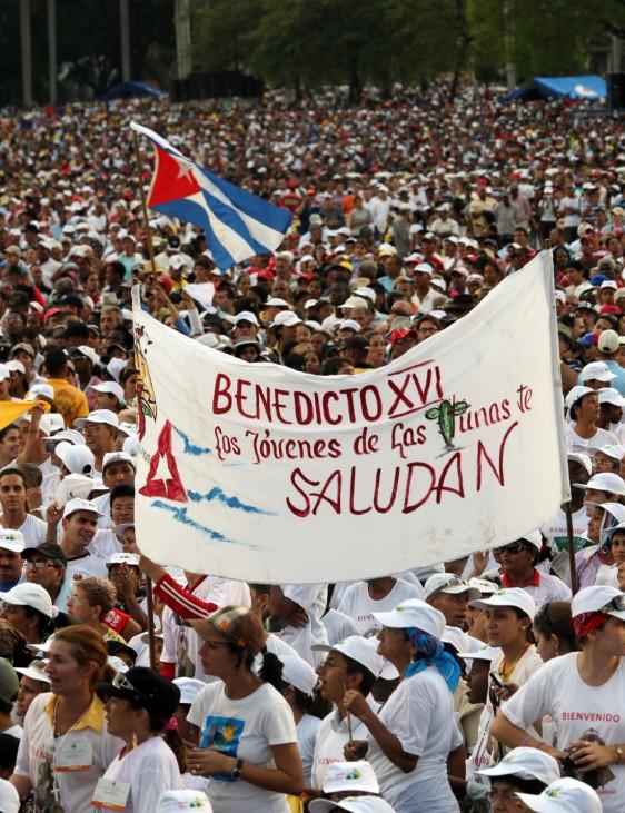 Papst-Messe in Kuba
