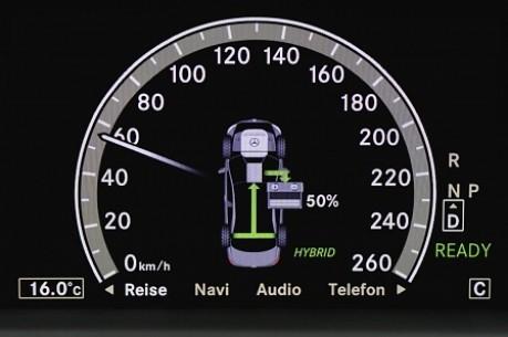 Mercedes ML Hybrid