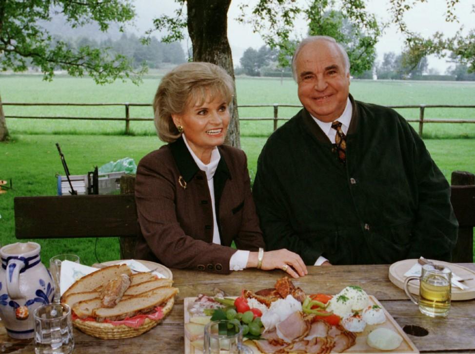 Hannelore und Helmut Kohl im Urlaub, 1998