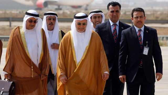Arab foreign ministers arrive in Baghdad