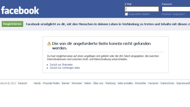Facebook NPD