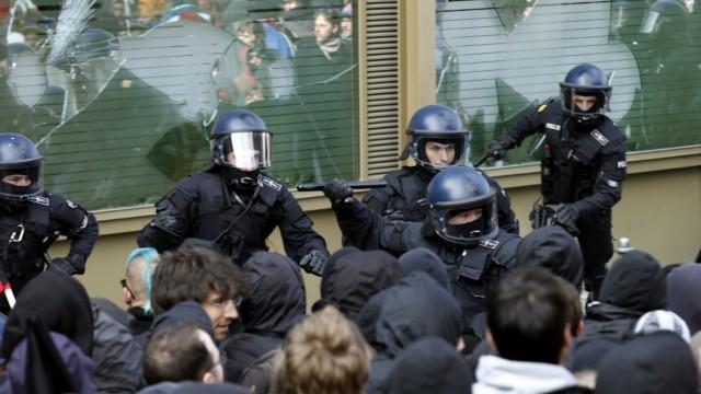Demonstration anlaesslich des europaweiten antikapitalistischen Aktionstages 'M31'