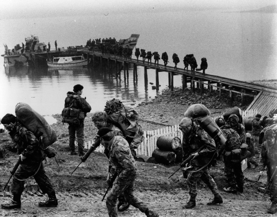 FILE PHOTO - 30 Years Since The Falklands Invaded: A Look Back At The Falklands War