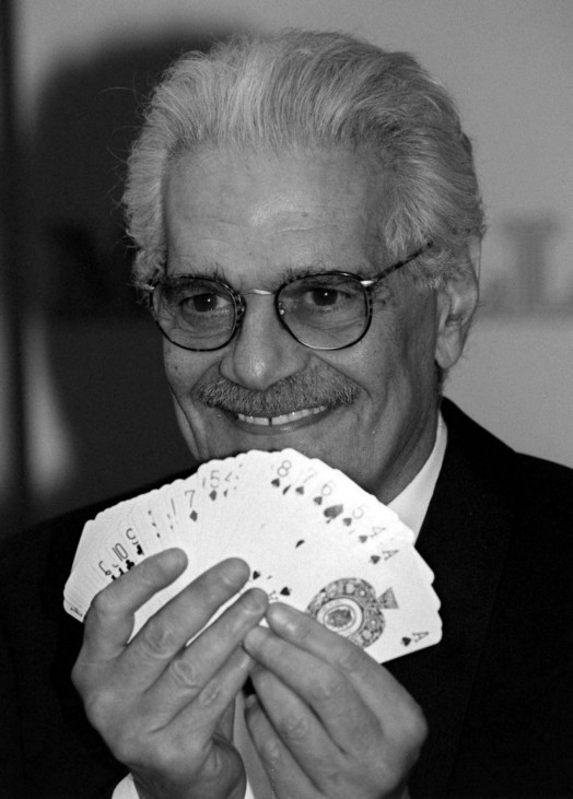 BRIDGE-SPIELER OMAR SHARIF