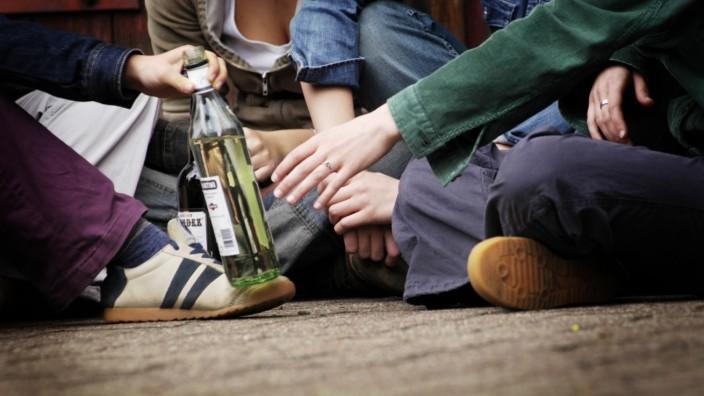 Jugendliche mit Alcopop, 2004