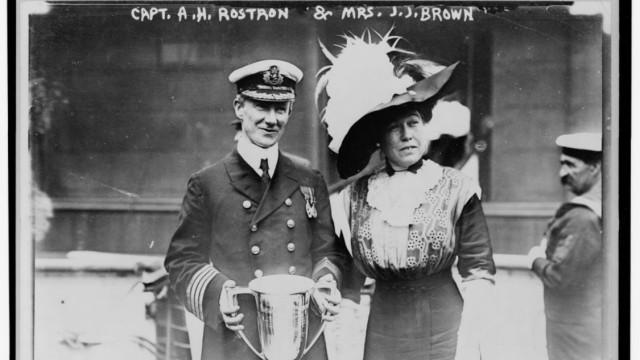 Molly Brown, Arthur Henry Rostron