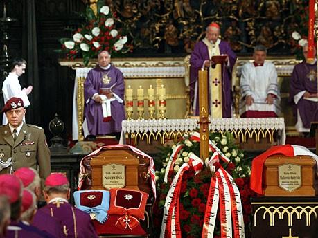 Kaczynski Trauermesse Kardinal Stanislaw Dziwisz  Metropoliten von Krakau dpa