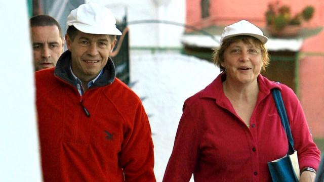 Angela Merkel macht Urlaub auf Ischia