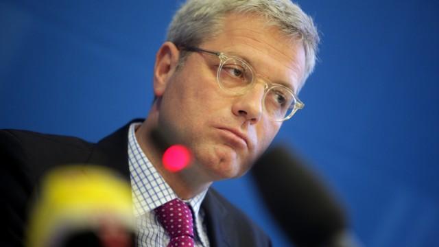 Norbert Röttgen, CDU, stellt sein Schattenkabinett vor