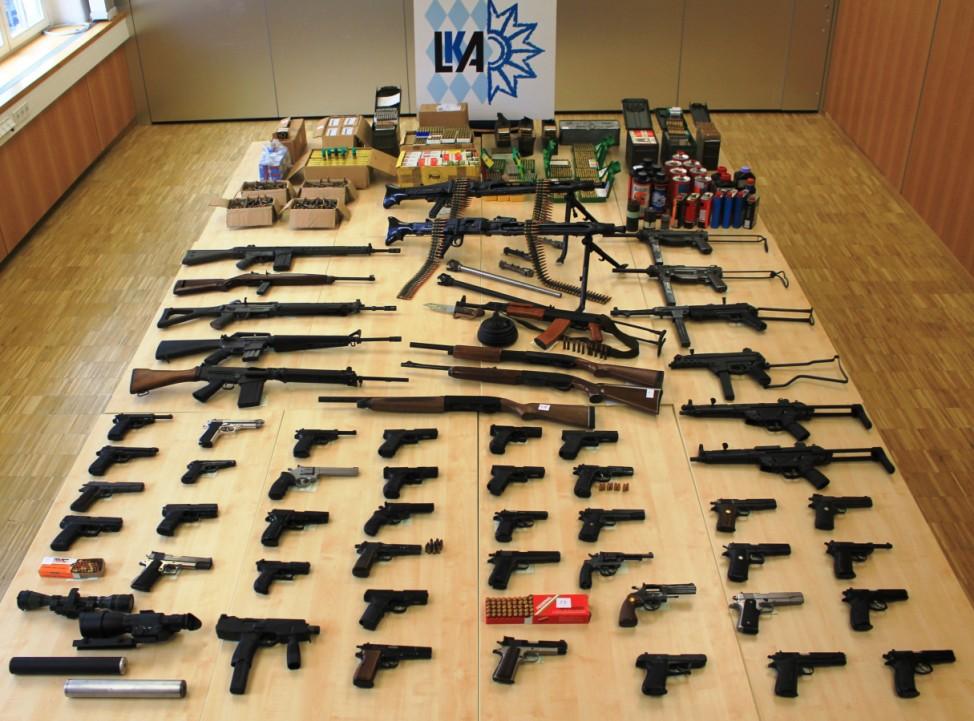 Waffensammler hortete jahrzehntelang Kriegswaffen