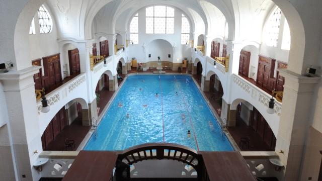 Müller'sches Volksbad: Historisches Ambiente unter Denkmalschutz: Im Müllersche Volksbad ist so gut wie alles originalgetreu erhalten - so wie es im Jahr 1901 gebaut wurde.