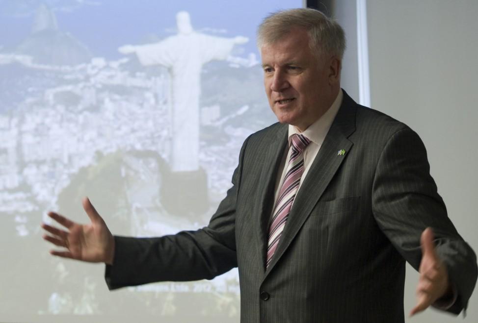 Bayerns Ministerpraesident Seehofer besucht Sao Paulo
