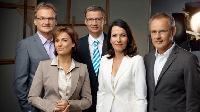 Frank Plasberg, Sandra Maischberger, Günther Jauch, Anne Will, Reinhold Beckmann
