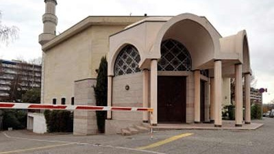 Verbot von Minaretten: Die Große Moschee in Genf: Die Volksabstimmung gegen den Bau neuer Minarette in der Schweiz löst geteilte Reaktionen aus.