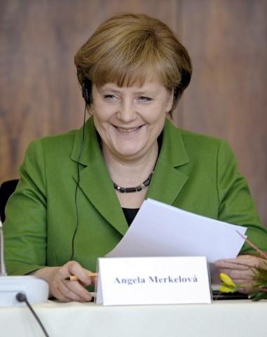German Chancellor Angela Merkel visit