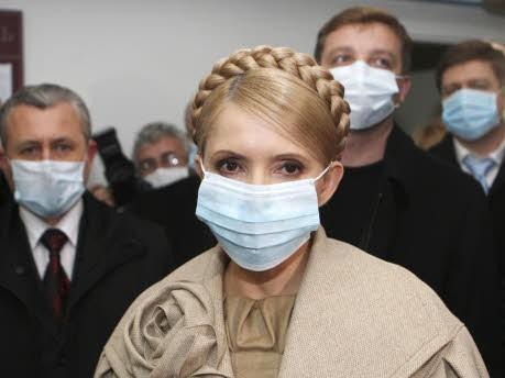 Ukraine Schweinegrippe, Tymoschenko, Reuters