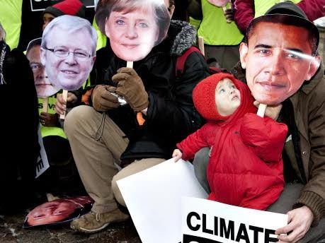 Kopenhagen Protest, AFP