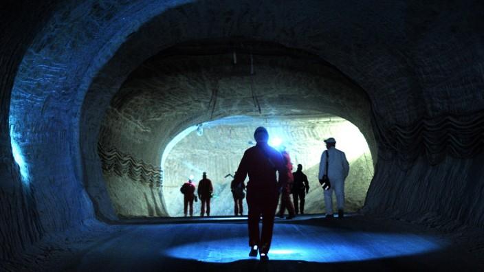 Aus dem niedersächsischen Salzstock Gorleben könnte ein Atom-Endlager werden.
