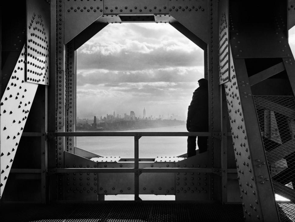 New Yorker Stadtarchiv George Washington Bridge New York