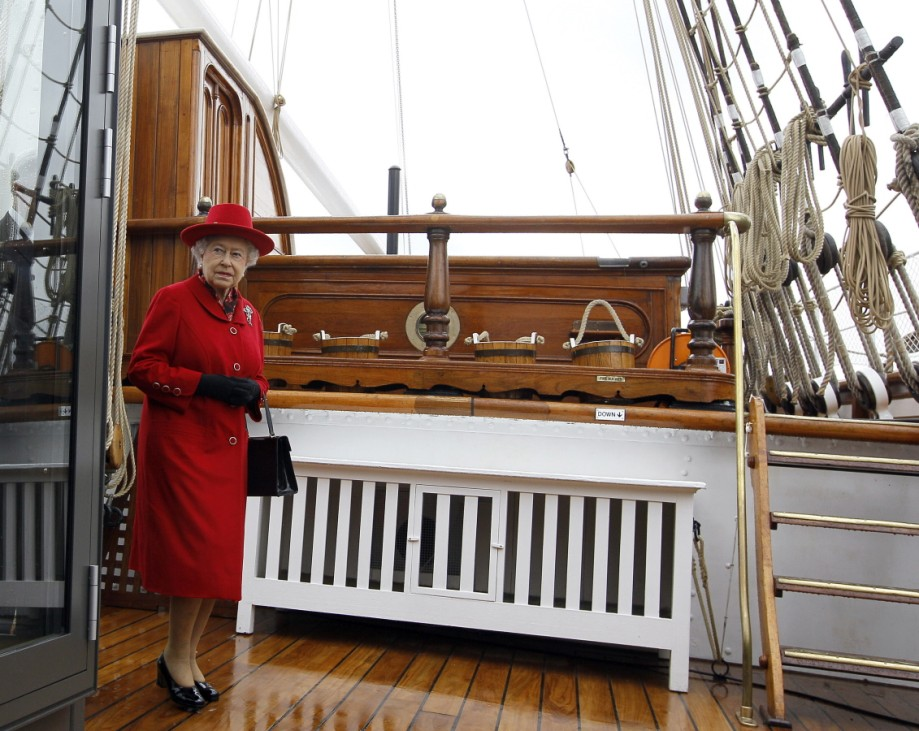 Queen Elizabeth II Visits Greenwich