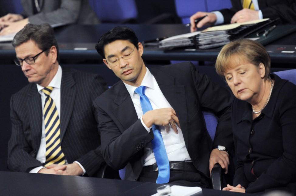 Merkel Rösler Westerwelle