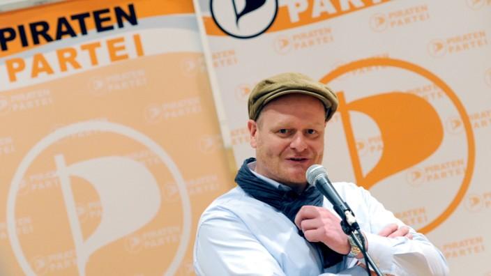 Piratenchef Bernd Schlömer