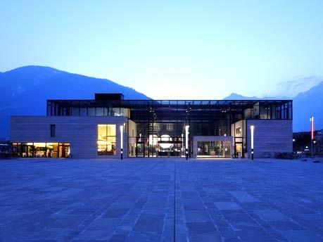 Europa Italien Südtirol Kunst Architektur Weinbau Wellness Hotel, Oskar Dariz/Therme Meran