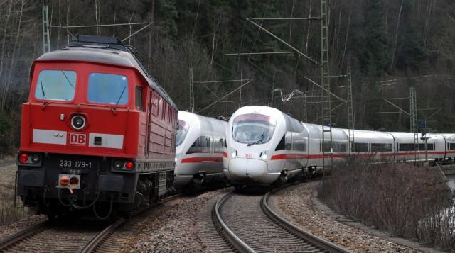 DB-ICE-Panne bei Probstzella
