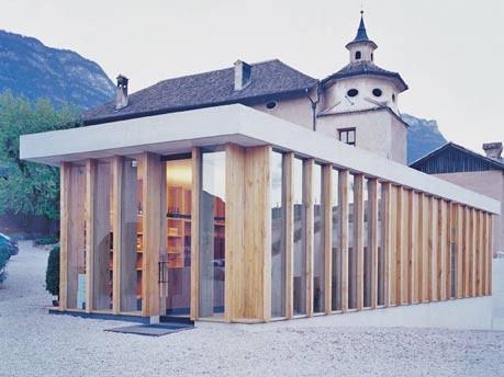 Europa Italien Südtirol Kunst Architektur Weinbau Wellness Hotel, Archiv BILDRAUM 2004