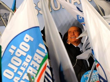 Silvio Berlusconi, Attacke, AFP